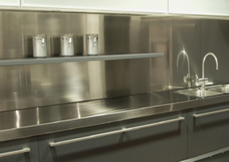 Stainless Steel Countertops - Village St George, LA