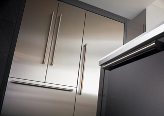 Ascension, LA Stainless Steel Kitchen Cabinets