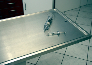 Stainless Table Gardere, LA